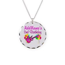 2 YR OLD ROCK STAR Necklace