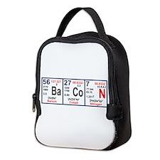 Elements of Bacon Neoprene Lunch Bag