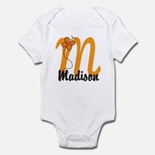 Custom M Monogram Infant Bodysuit