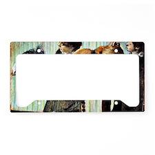 Degas - The Little Milliners License Plate Holder