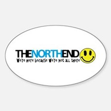 North End Nutter Decal