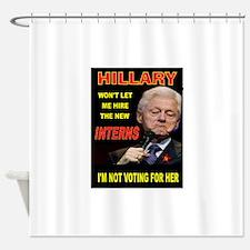 WILD BILL Shower Curtain