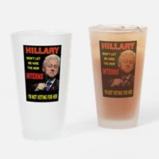 WILD BILL Drinking Glass