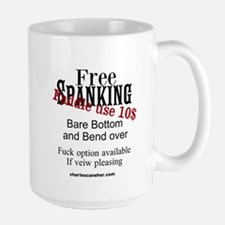 Free Spanking paddle Use 10$ Mugs