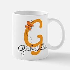 Custom G Monogram Mug