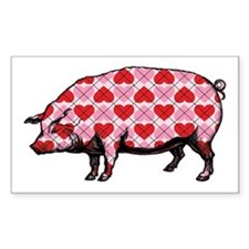 Pig of My Heart Decal