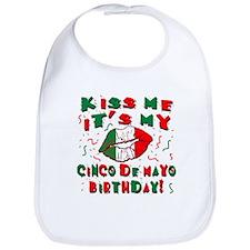KISS ME Cinco de Mayo Birthday Bib