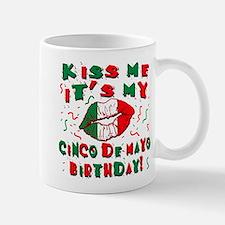 KISS ME Cinco de Mayo Birthday Small Small Mug