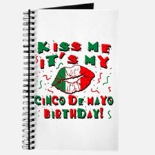KISS ME Cinco de Mayo Birthday Journal