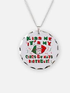 KISS ME Cinco de Mayo Birthd Necklace