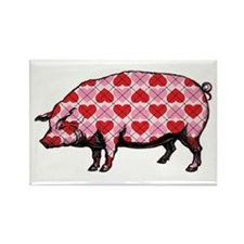 Pig of My Heart Magnets