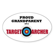 Proud Grandparent Target Archer Decal