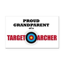 Proud Grandparent Target Rectangle Car Magnet