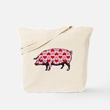 Pig of My Heart Tote Bag