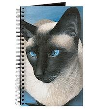 Boy Siamese Cat Journal