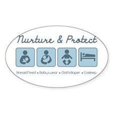 Nurture & Protect Decal
