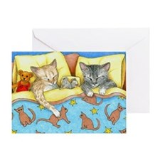 Cat 404 Greeting Card