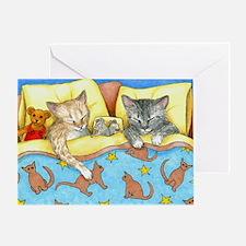 Cat 404 Greeting Card