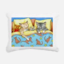 Cat 404 Rectangular Canvas Pillow