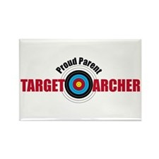 Proud Parent Target Archer Rectangle Magnet