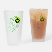 Infected Guardian Icon Drinking Glass