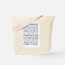 SAY GRACE Tote Bag