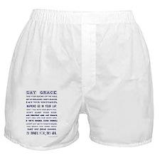 SAY GRACE Boxer Shorts