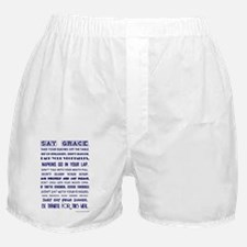 SAY GRACE Boxer Shorts