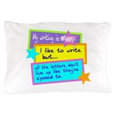 Wiggly Writing/kids Pillow Case