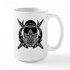 Combat Diver Supervisor B-W Mugs