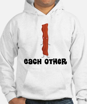 Bacon and Egg Couples Hoodie
