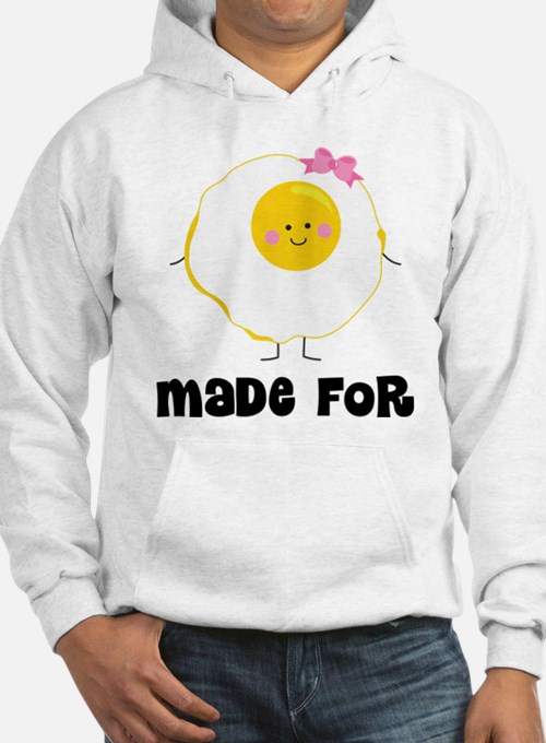 Egg and Bacon Couples Hoodie