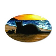 Cat 433 Wall Decal
