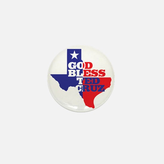 God Bless Ted Cruz Mini Button