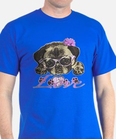 Pug in Pink. For any one that loves p T-Shirt