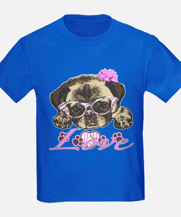Pug in Pink. For any one that lo T
