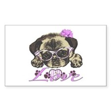 Pug in Pink. For any one that Decal