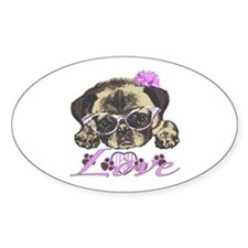 Pug in Pink. For any one that loves Decal