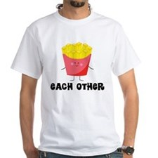 Fries and Hamburger Shirt