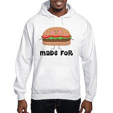 Hamburger and Fries Jumper Hoody