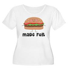 Hamburger and T-Shirt