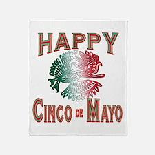 HAPPY CINCO DE MAYO Throw Blanket