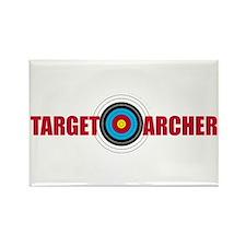 Target Archer Rectangle Magnet