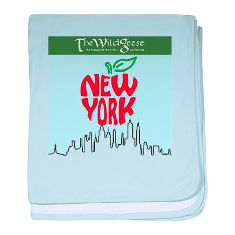 The Wild Geese in NYC baby blanket