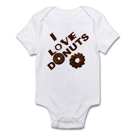 I Love Donuts! Infant Bodysuit
