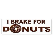 I Love Donuts! Bumper Car Sticker