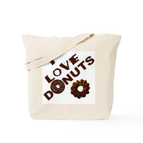 I Love Donuts! Tote Bag