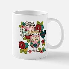 owl love forever Mugs