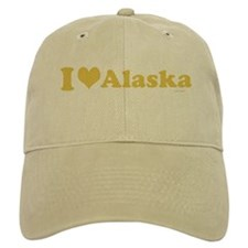 I love Alaska Baseball Baseball Cap
