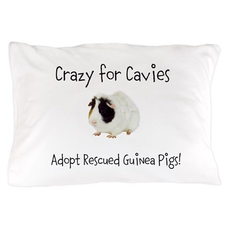 Adopt a Rescued Guinea Pig Month Pillow Case